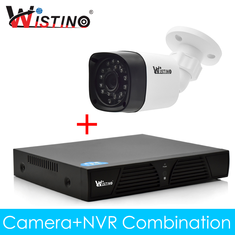 Wistino CCTV IP Camera Kit NVR Kits XMeye Outdoor 720P 960P 1080P Surverillance Video Home Security System Monitor Night Vision wistino cctv bullet ip camera xmeye waterproof outdoor 720p 960p 1080p home surverillance security video monitor night vision
