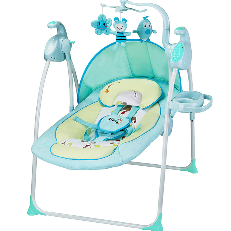 Portable German baby rocking chair baby electric rocking chair comfort rocking chair PTAT rocking chair the baby rocking chair electric cradle chair deck chair