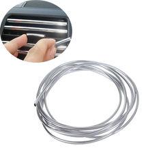 Уравновешивания литье rim фильмы u-образный решетка car прокладки vent хром декоративные