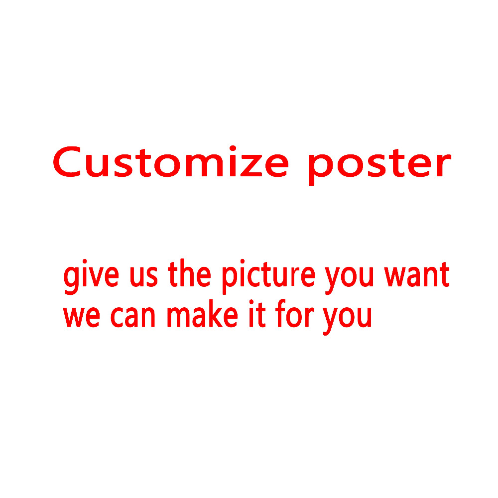 Customize Poster  With High Quality Picture