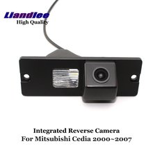 Liandlee For Mitsubishi Cedia / Virage 2000~2007 Car Reverse Parking Camera Backup Rear View Camera / SONY HD CCD Integrated
