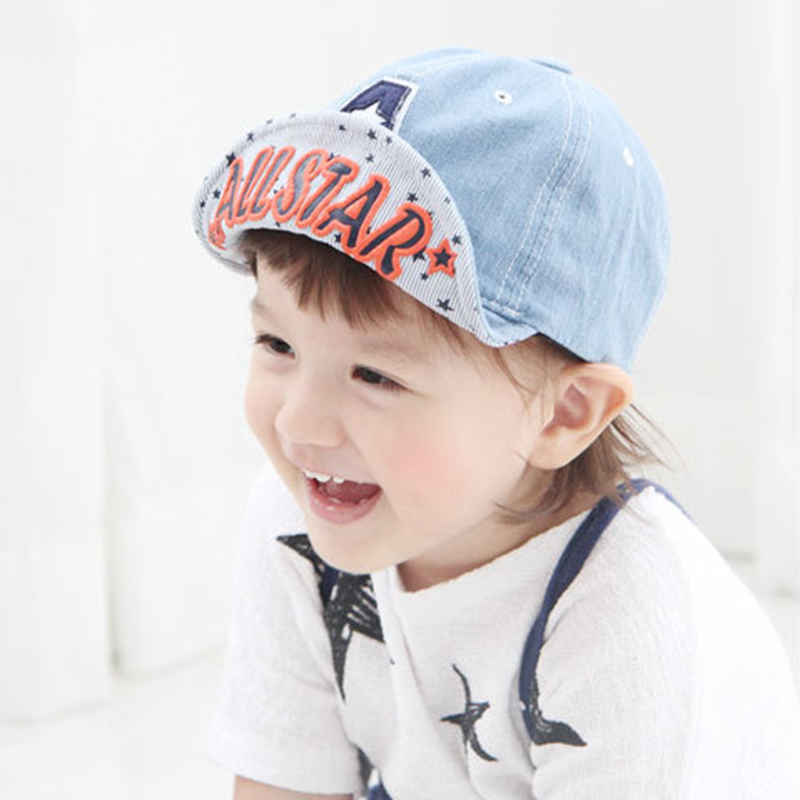 Letter Cotton Baby Baseball Caps Fashion Boy Girl Hat Cowboy Kids Cap  Headgear Kids Hat For Boy Spring Summer Baby Boys Clothing 3fe3ed136379