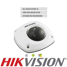 Anglais Version DS-2CD2542FWD-IS 4MP Mini dôme IR jusqu'à 10 m IR Réseau WIFI Caméra Pleine HD1080p POE caméra WDR