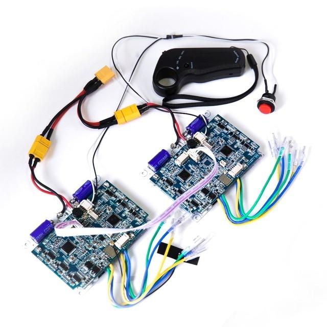 24V 36V NEW Version 2.4G Transmitter 4WD Remote Controller Board Hub Motor Skateboard Motor Wheel Wheel Drive Control Board