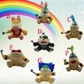 7Pcs/lot Super Mario Bro Koopalings Plush Doll Wendy Larry Iggy Ludwig Roy Morton Lemmy O.Koopa Plush Toys 13-18cm 5.12-7.1inch