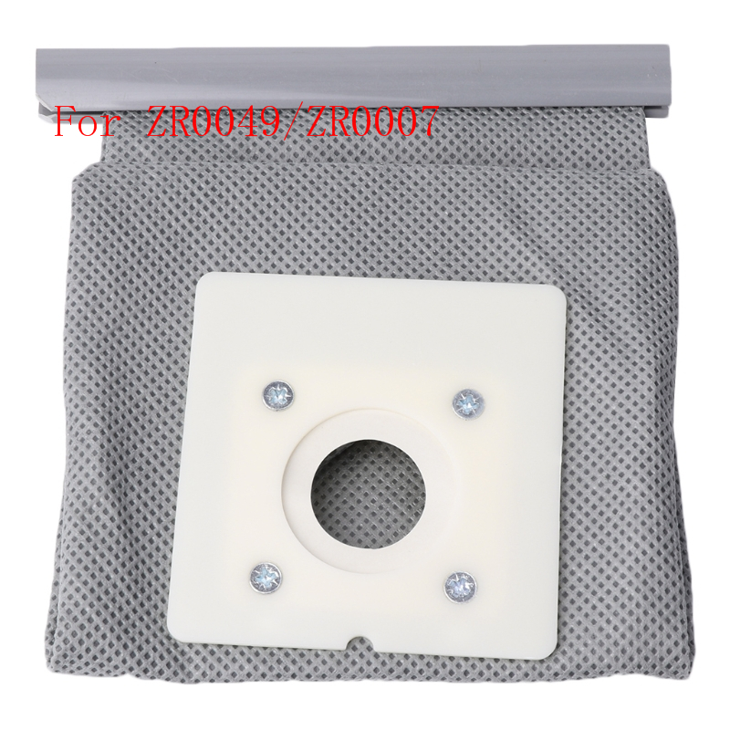 Non Woven Cloth Vacuum Cleaner Bag Reusable Washable Dust Bags For ZR0049/ZR0007