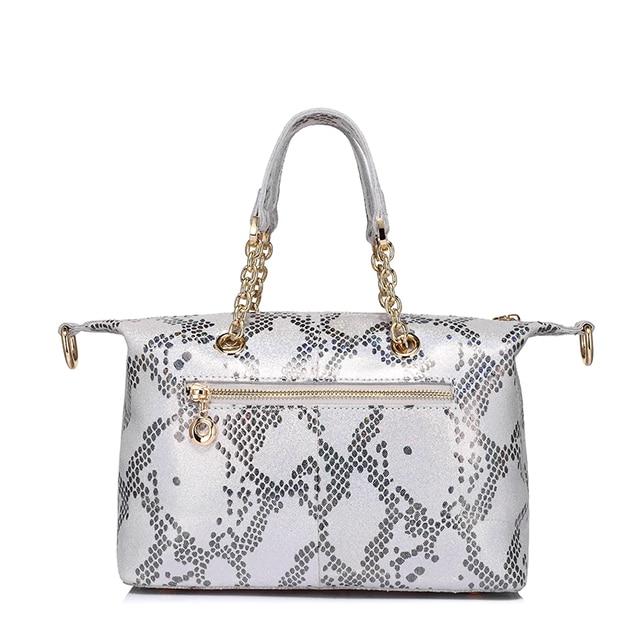REALER brand new genuine leather handbag women small tote bag pearl leather pattern design top-handle bag ladies shoulder bags