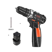 купить 16.8V Electric Drill Double Speed Lithium Battery Mini Cordless Drill Household Multi-function Electric Drill Power Tools дешево