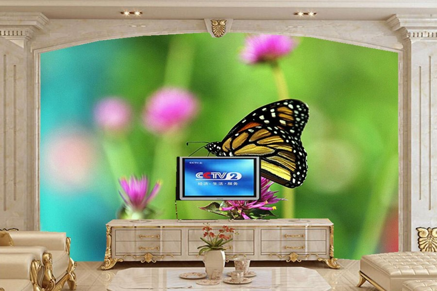 Closeup Butterflies Animals wallpapers, living room sofa TV wall bedroom 3d wall murals wallpaper nature papel de parede vogue beautiful rose flower 3d wallpaper papel de parede living room sofa tv wall bedroom wall papers home decor large murals