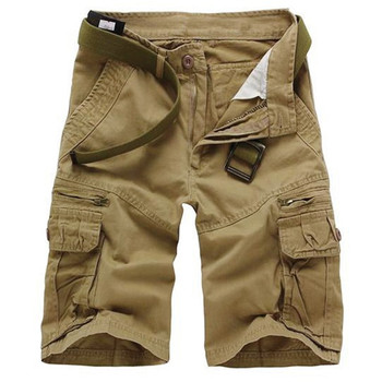 цены Casual Loose Short Pants Camouflage Military Summer Style Knee Length Plus Size 10 Colors Shorts Men New 2018 Men Cargo Shorts