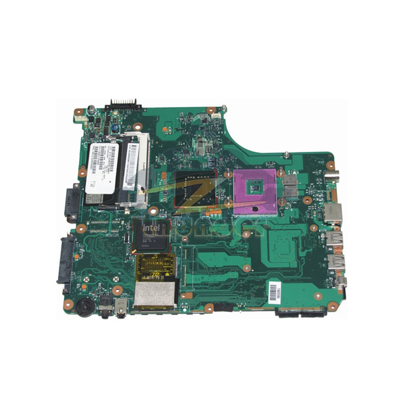 V000125000 for toshiba satellite A305 laptop motherboard GM965 <font><b>DDR2</b></font> image