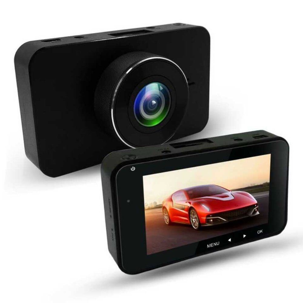 3 Inch DVR 160 Degree Wide Angle Dash Cam Dual Lens 1080P WIFI Car Digital Video Recorder With Night Vision Function