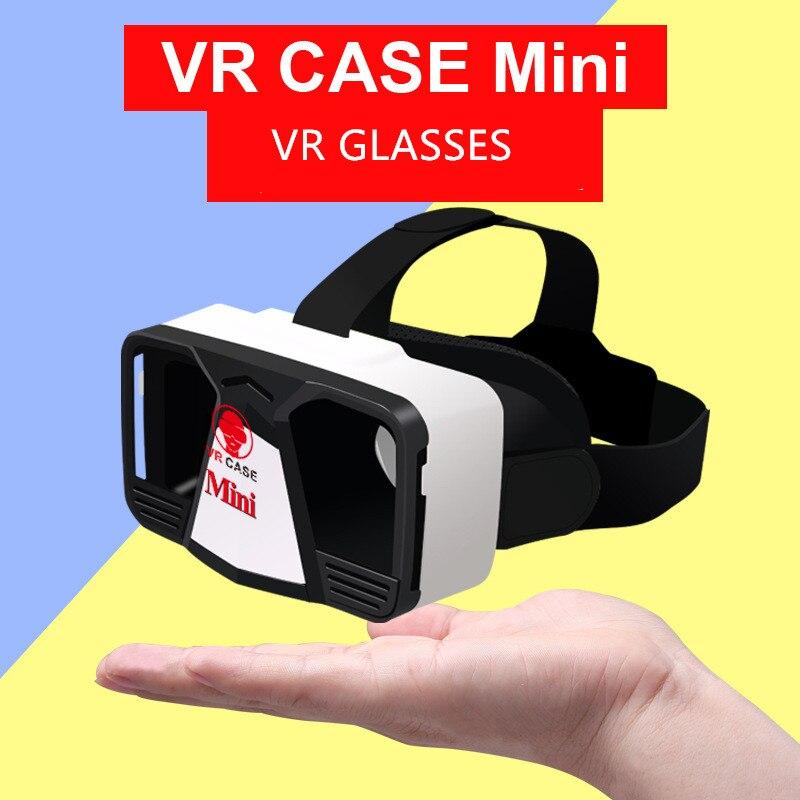 VR-HERE CASE MINI VR Glasses 3D Glasses / Virtual Reality Glasses VR Headset For Smartphone +Bluetooth Controller genuine for lenovo thinkpad e550 cpu cooling fan heatsink 00ht550