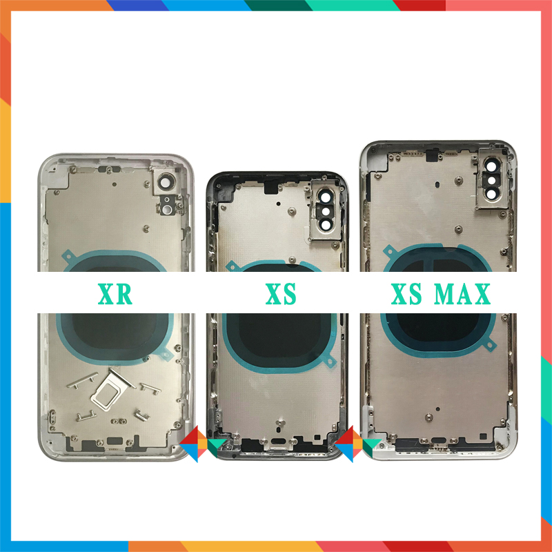 AAA High Quality Back Cover For Iphone X / XR / XS / XS Max Housing Cover Battery Cover Rear Door Chassis Middle Frame + Tool