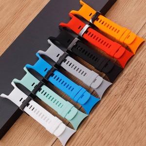 Image 2 - Watch Accessories For Suunto Spartan Trainer Wrist HR Parkour Series Universal Strap For Suunto 5 Mens Strap