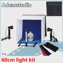 Photography equipment 60cm soft light tent kit/ photo studio light box kit HOT 2017 CD50
