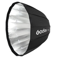 Godox P120L Parabolic Softbox with Bowens Mounting 47.2 Adapter Ring for Aputure COB 120D 120t AD600BM Flashpoin