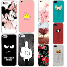 752c6939411 Funda para iphone 7 funda de silicona Minnie funda blanda para Apple iphone  5 5S se