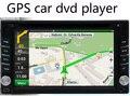 6.2 de polegada carro navegador GPS DVD Player Do Carro FM MP3/MP4 oferecer novos mapas e dropshipping, frete grátis