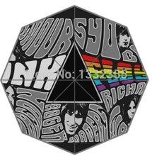 Новый горячая распродажа на английский рок группа взрослых универсальный дизайн мода складной зонтик хороший подарок идея! Бесплатная доставка U30-161