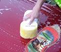5 unids/lote Honeycomb lavado de coches esponja de limpieza herramienta de limpieza lavadora herramientas Auto limpieza del hogar del paño comprimir esponja limpia