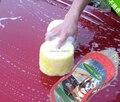 5pcs/lot Honeycomb Car Wash Sponge Cleaning Tool Cleaning Washing Auto Tools Household cleaning cloth compress  clean sponge