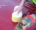 Lavagem de carro esponja de limpeza de lavagem de limpeza ferramenta de Auto casa pano de limpeza compress esponja limpa