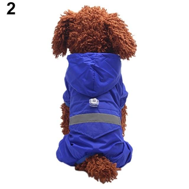 2016 Hot item! Waterproof Hoody Dog Apparel Acrylon Raincoat Jacket Pet Cat Puppy Costume Store 243