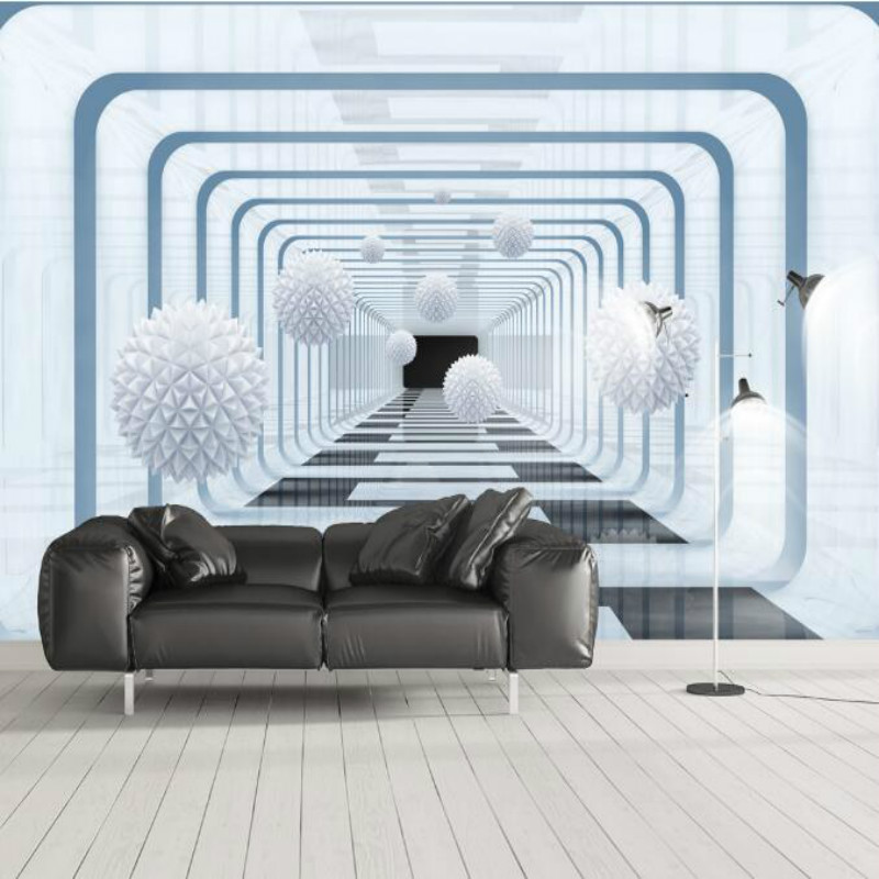 Abstract geometric 3d space background Wallpaper for Walls 3d Wall Paper Mural Wallpapers Home Improvement Decorate damask wallpaper for walls 3d wall paper mural wallpapers silk for living room bedroom home improvement decorative