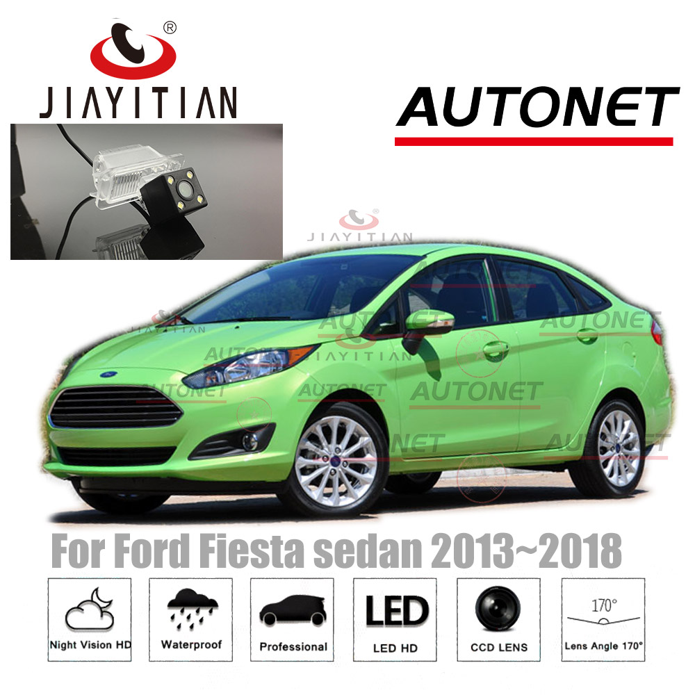 JIAYITIAN Rear View camera for Ford Fiesta sedan 2013 2014 2015 2016 2017 2018 CCD Reversing Parking Camera license plate camera