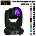 TIPTOP 180 Вт 2R MSD YOND Moving Head Beam Light 8 Facet Prism Lens 3pin XLR-соединение Анодное гнездо Gobo цветное колесо Призма