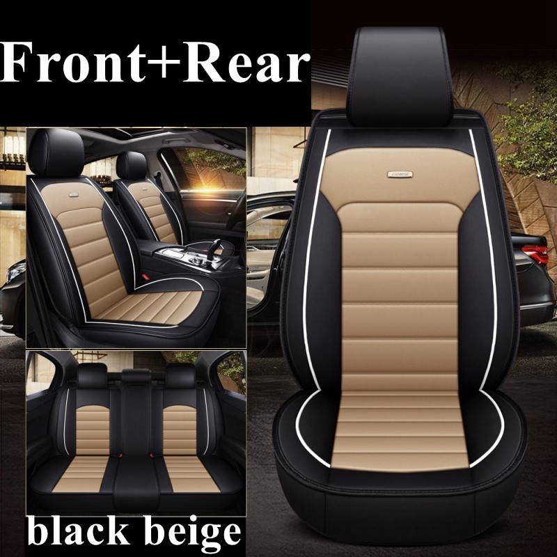 Front Rear Car seat cover for Volkswagen Passat b5 b6 b7 b8 polo golf 4 5