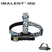 IMALENT HR20 Cree XP-L Torcia Tocco 1000lm Led Del Faro w/Porta USB di Ricarica Tactical Faro da 18650 Batteria Auto difesa