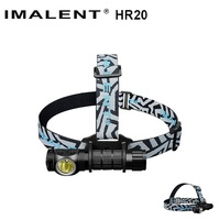 IMALENT HR20 Cree XP L Flashlight Touch 1000lm Led Headlamp W USB Charging Port Tactical Headlight