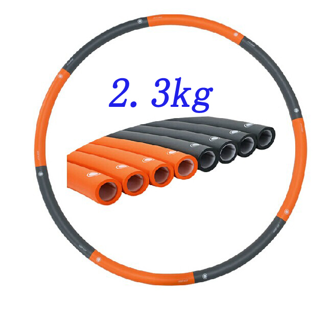 2.3KG Dia 100cm hula hoop 8 parts waist workout for professional freeshipping