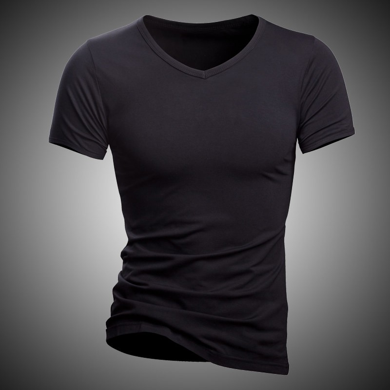 New Men Undershirt Solid 100 Cotton Quality T Shirt Brand Fitness Wearing Inside Tshirt Homme Underwear Casual T Shirt Men in T Shirts from Men 39 s Clothing