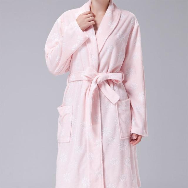 2016 winter черный женщины шелкового кимоно халаты долго сексуальная ночная рубашка винтаж печатных ночное платье цветок плюс