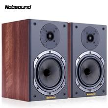 Nobsound NS-602 двухполосная деревянная 100 Вт 1 пара 6,5 дюймов книжная полка колонки 2,0 HiFi Колонка звук домашняя профессиональная колонка
