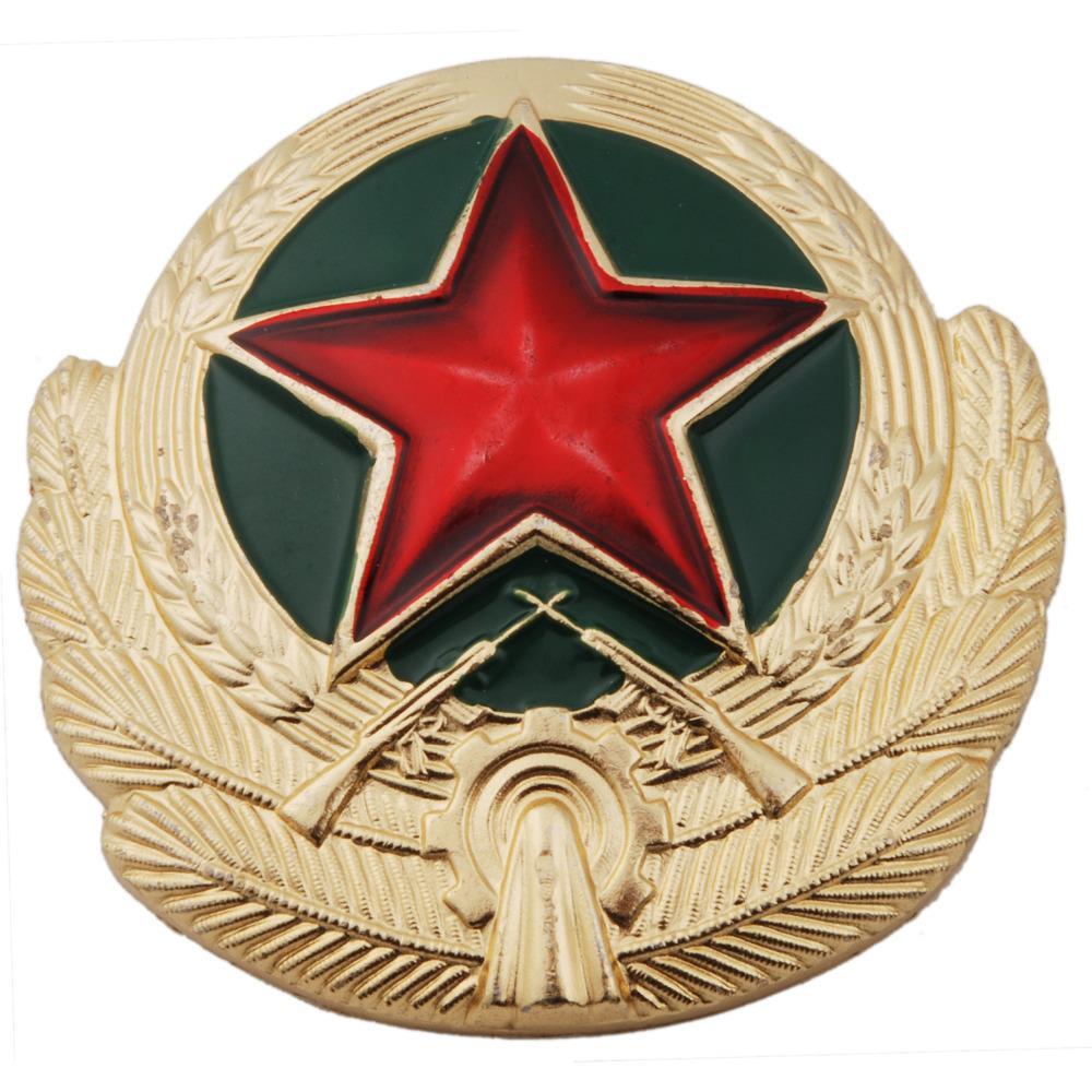 SOVIET UNION USSR RUSSIAN MILITARY ARMY BADGE METAL COCKADE - 36283