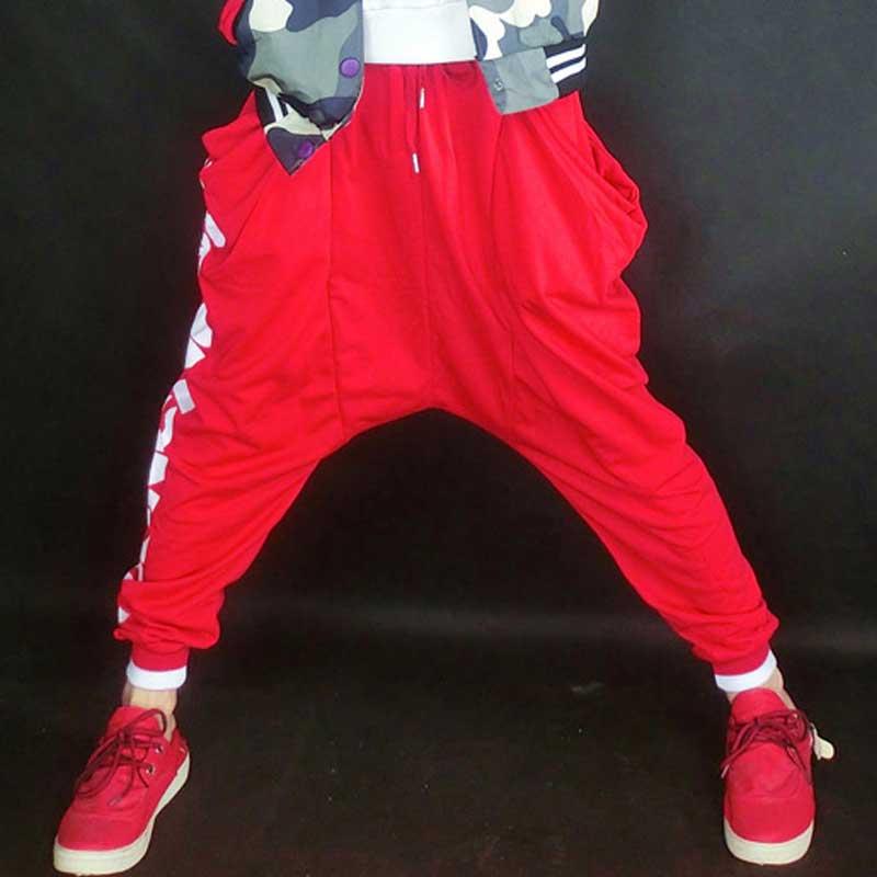 2016 new womens baggy pants calca swag bottoms hip hop