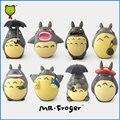Г-н Froger Смолы Мой Сосед Тоторо рисунок chibi милые куклы Анимации Хаяо Миядзаки Микро мох Игрушки Модель Украшения Ремесла