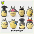 Mr.Froger Resin My Neighbor Totoro figure chibi cute dolls Miyazaki Hayao Animation Micro moss Toys Model Decoration Crafts