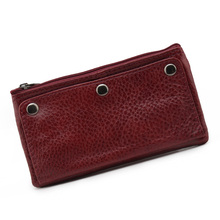 2018 fashion cow genuine leather car keys holder cover brand mutiple housekeeper purse keys wallets Case pouch fold hasp key bag
