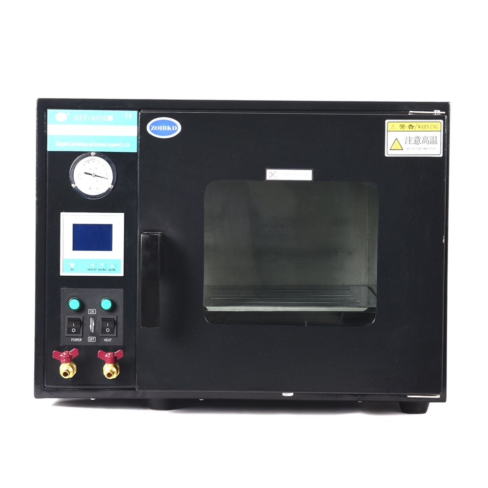 Electrical Vacuum Drying Oven DZF-6020 Stainless Steel Digital Display 2 Stainless Steel Plates 5 c to 300 c electric heating blast drying oven with stainless steel liner and digital display