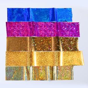 Image 4 - 7 Colors  Nail Foils Nail Transfer Sticker Rose Gold Champagne Nail Stickers 4*20cm Nail Art Design