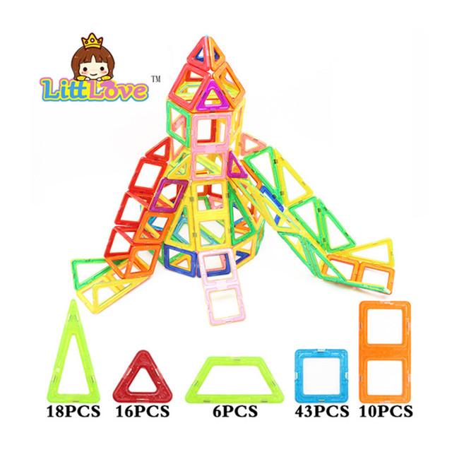 93 unids parque de atracciones tobogán diseñador magnética bloques de construcción magnética modelo diy 3d ladrillos juguetes educativos regalos de cumpleaños