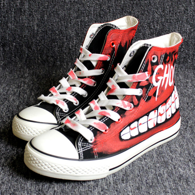 Halloween Sneakers Hip-hop  1