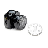 Free Shipping 100 New High Quality HD Mini DVR Smallest Camera Hiding Video Recorder Camcorder