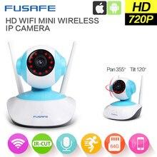 FUSAFE Wifi IP Camera wifi 720P Night Vision Wireless MINI P2P CCTV Camera Security Onvif SD Card Indoor Home Cam Telecamera