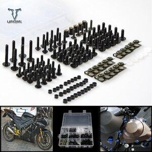 Image 1 - CNC Universal Motorcycle Fairing/windshield Bolts Screws set For Honda cbr1000rr fireblade cbr1100xx blackbird ST1300 st1300a